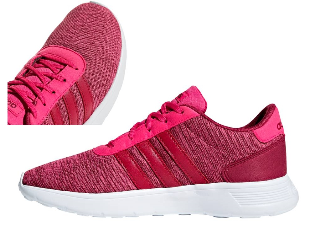 Details about Adidas Lite Racer K b75701 Pink Women's Shoes Kids Sports  Running Sneakers- show original title