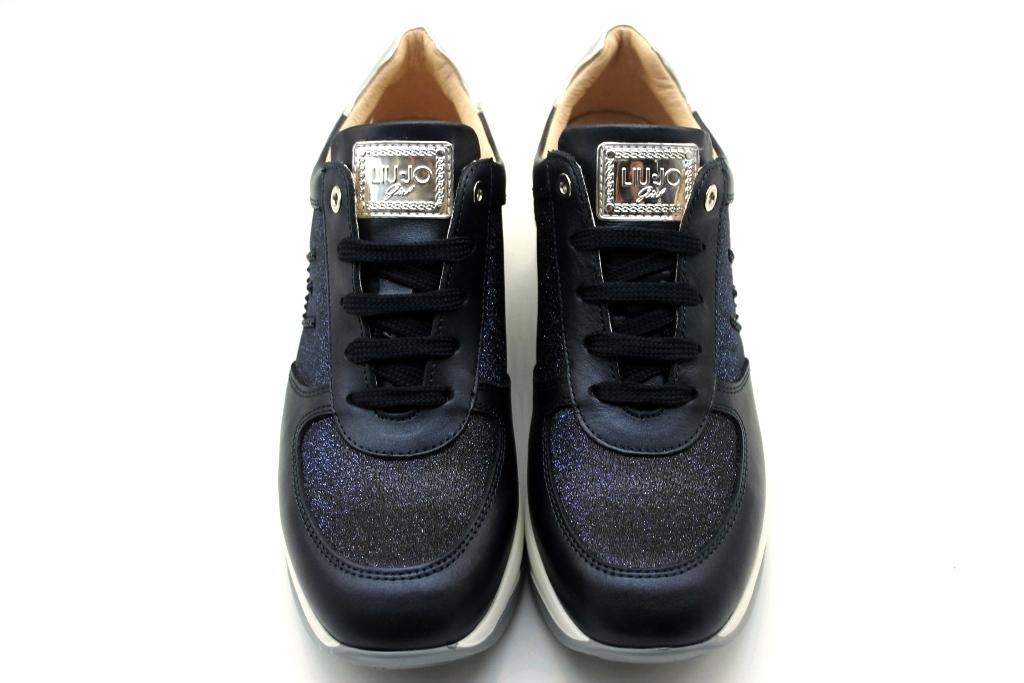 Liu Jo Girl L4A4 20377 0492800 Blu Sneakers Scarpe Donna Calzature Comode