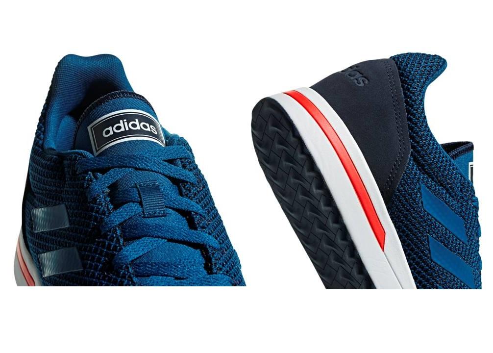 Dettagli su Adidas RUN70S F34820 Blu Petrolio Scarpe Uomo Sneakers Sportive