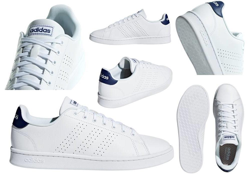 Kleding en accessoires Adidas ADVANTAGE F36423 Bianco Scarpe ...