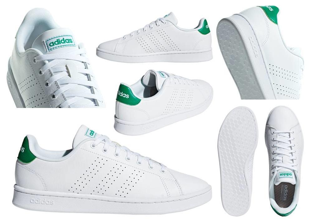 Détails sur Adidas Advantage F36424 Blanc Chaussures Hommes de Gymnastique Homme Sportif