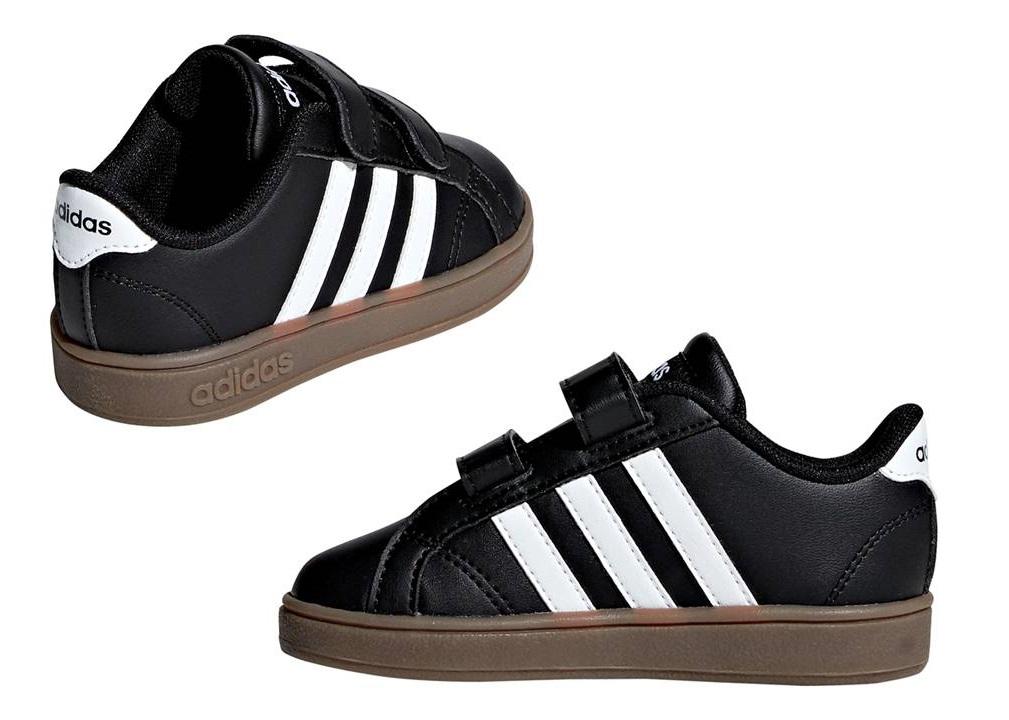 Adidas B76063 Nero Dal 20 al 27 Sneakers Scarpe Bambino Ginnastica Sport