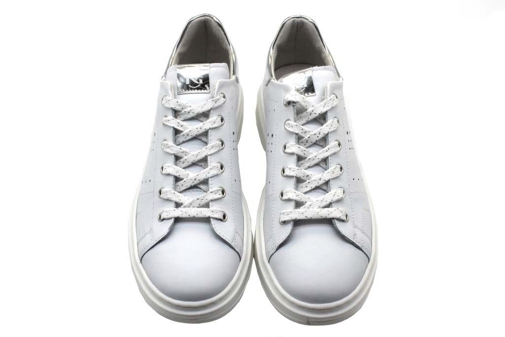 Nero Giardini Junior P930990F Bianco Sneakers Donna Bambina Casual