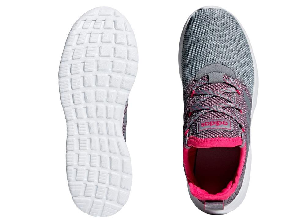 Détails sur Adidas LITE RACER RBN K F36782 Grigio Scarpe Donna Sneakers Sportive Running