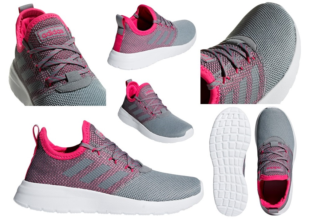 Détails sur Adidas Lite Racer Rbn K F36782 Gris Chaussures Femme Baskets Sportif Running
