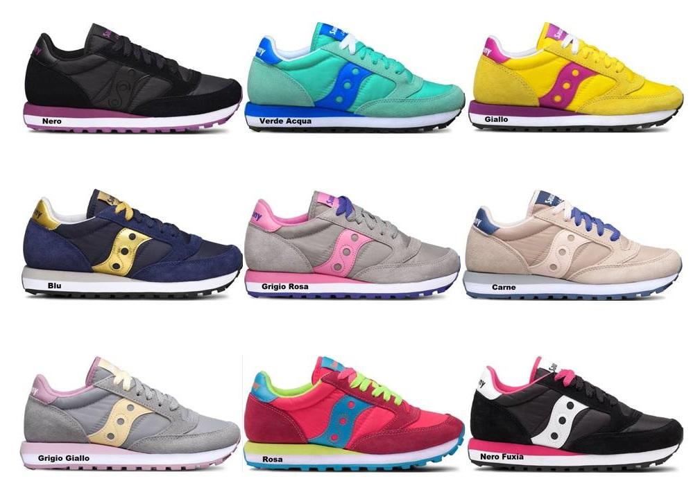 Sneaker Donna Saucony grid SD nero S70263 3