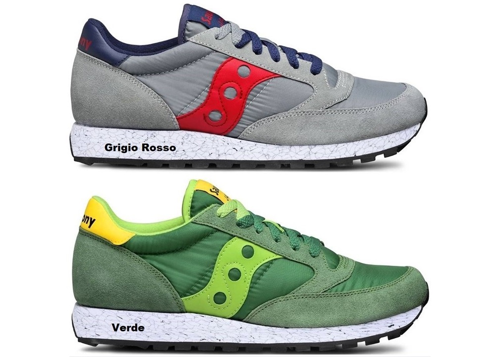 Saucony Jazz S70368 39 Grigio Men Gray,Lightblue Sneakers