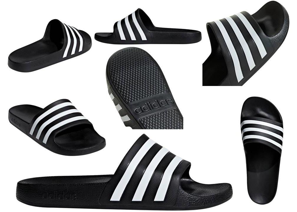 92b9a33950 AdidasF35543Nero - lagrotteria scarpe moda - Adidas Adilette Aqua ...