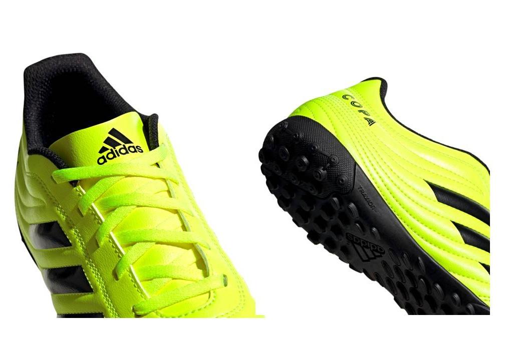 ADIDAS COPA 19.4 TF F35483 Giallo Sneakers Uomo Scarpe