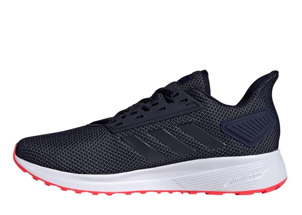 Détails sur Adidas Duramo 9 F34498 Bleu Chaussures Homme Baskets Running Sportif