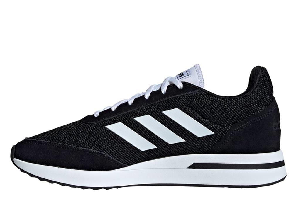 Dettagli su Adidas RUN70S EE9752 Nero Scarpe Uomo Sneakers Sportive