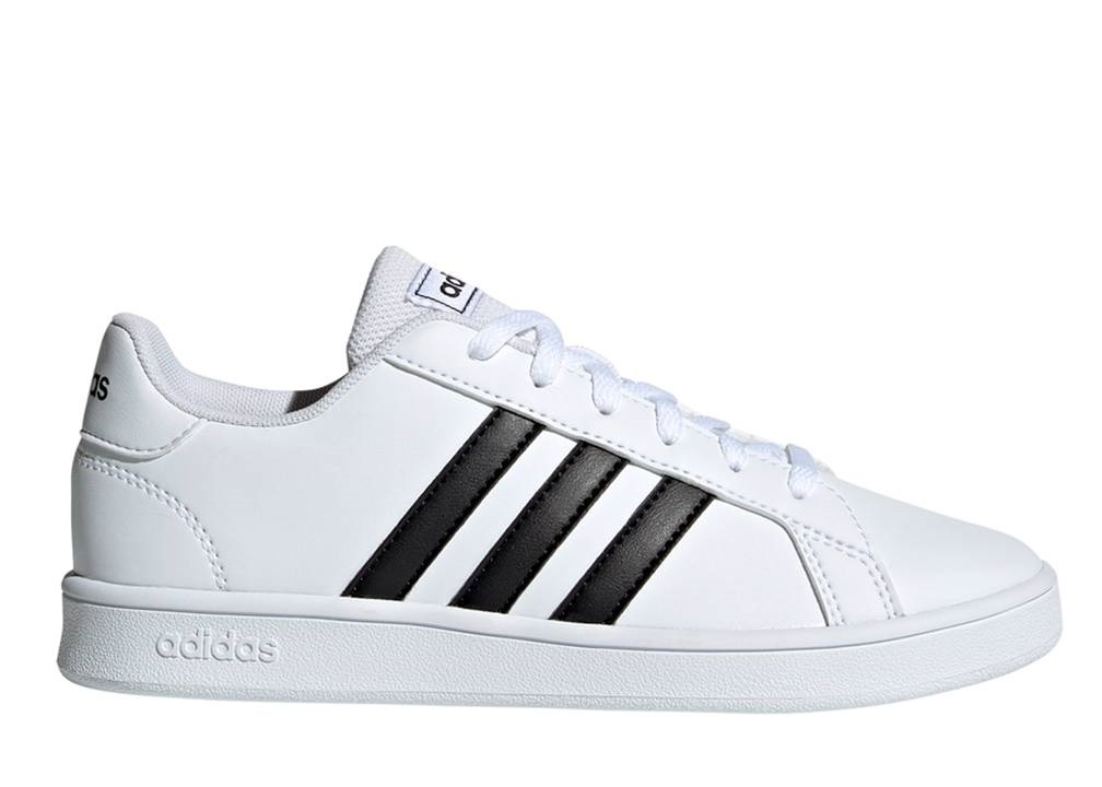 Adidas GRAND COURT K EF0103 Bianco Scarpe Donna Bambini Sneakers Sportive