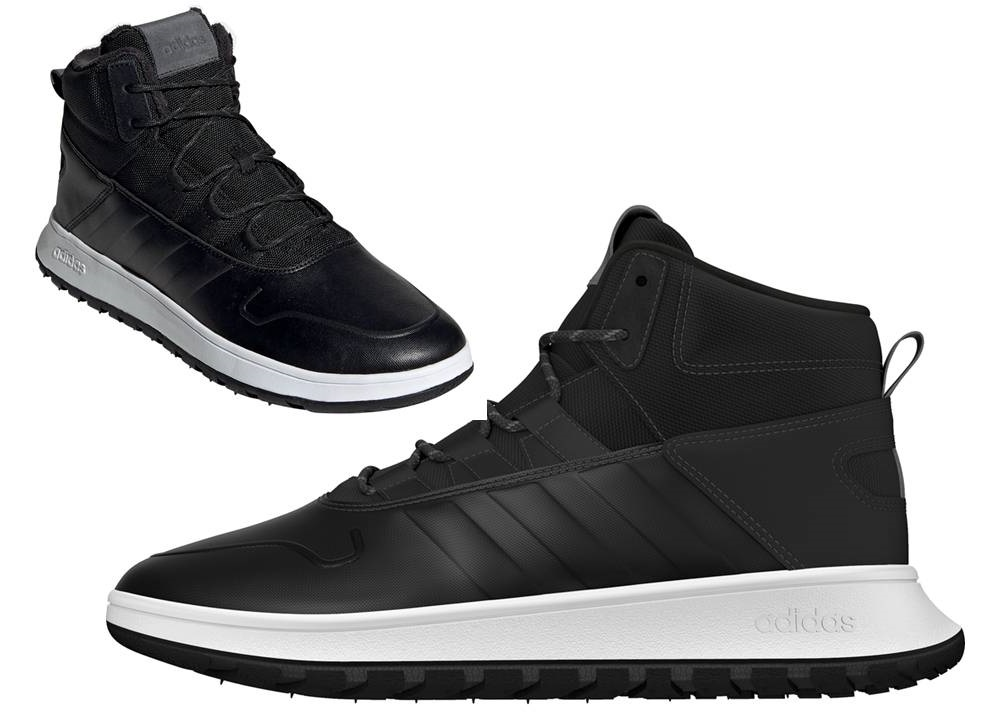 Szczegóły o Adidas FUSION STORM WTR EE9709 Nero Scarpe Uomo Sneakers Sportive