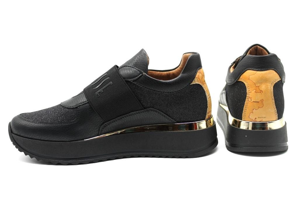 Alviero-Martini-1a-Classe-Junior-0421-0090-Nero-Sneakers-Scarpe-Donna-Bambini miniatura 3