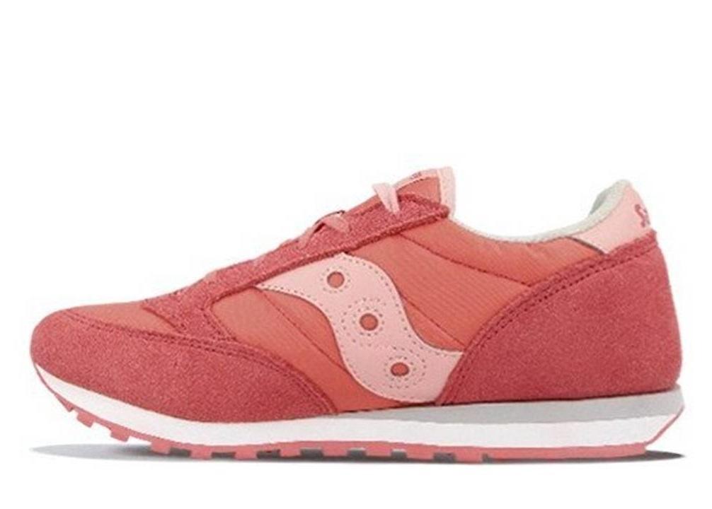 Saucony-Jazz-SK161587-Rosa-Sneakers-Donna-Bambini-Scarpa-Casual-Sportiva miniatura 2