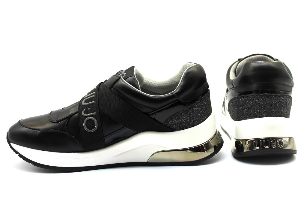 precio inmejorable últimos lanzamientos mejor lugar para Liu Jo Karlie EX014 469701 Negro Zapatillas Mujer Calzado Casual ...