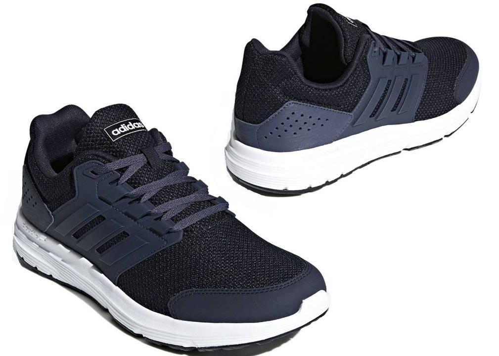 Dettagli su Adidas GALAXY 4 F36173 Blu Scarpe Uomo Sportive Running