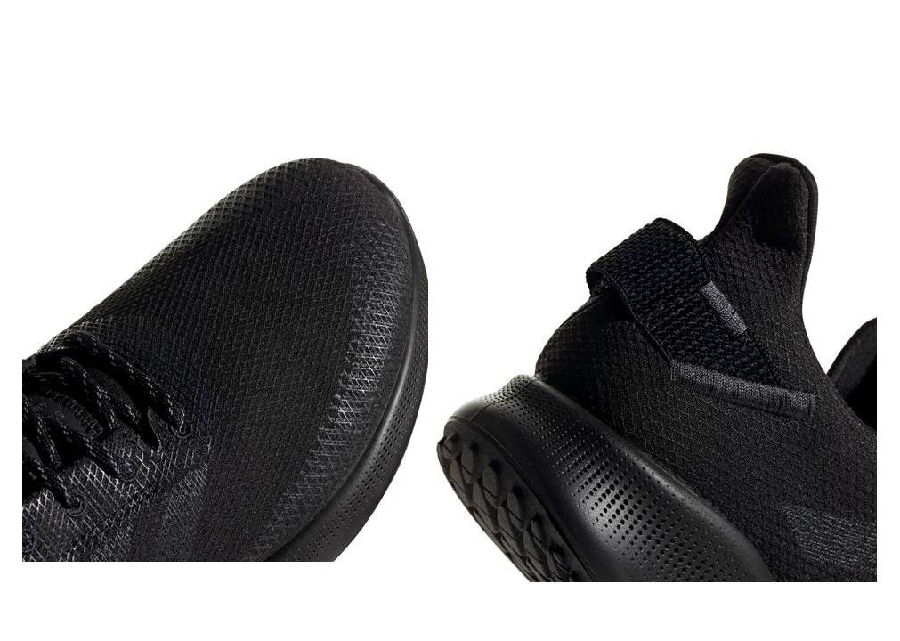 Dettagli su Adidas SENSE BOUNCE STREET CLIMA EF2020 Nero Scarpe Uomo Sportive Running