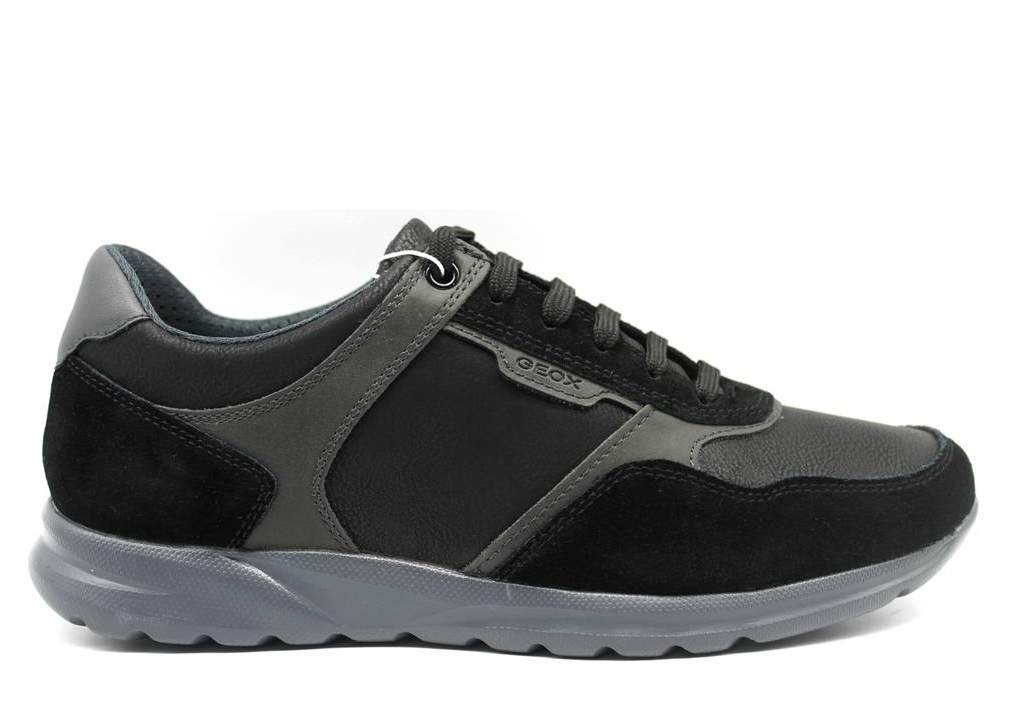 Dettagli su Geox DAMIAN U940HA 0ME22 Nero Sneakers Scarpe Uomo Calzature Casual