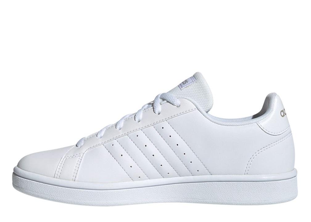 Dettagli su Adidas GRAND COURT BASE EE7874 Bianco Scarpe Donna Sneakers Sportive