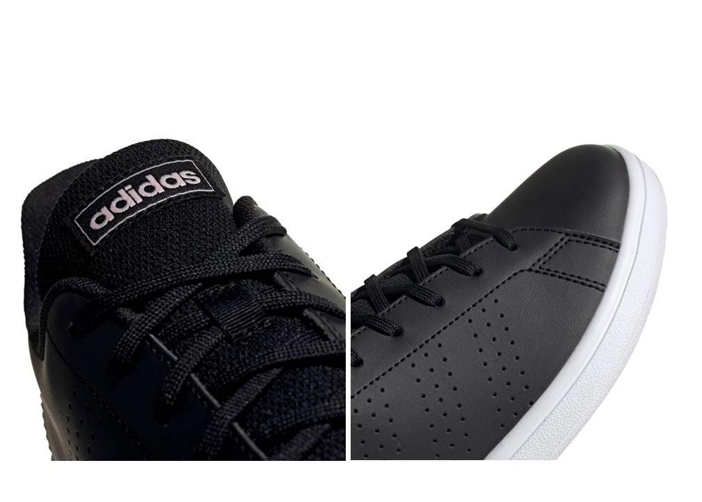 Détails sur Adidas Advantage Base EE7511 Noir Chaussures Femme Baskets  Sportif