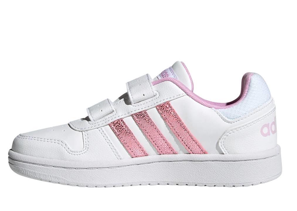 Scarpe bambina bimba Adidas FY9461 da tennis sneaker ginnastica sportive strappo