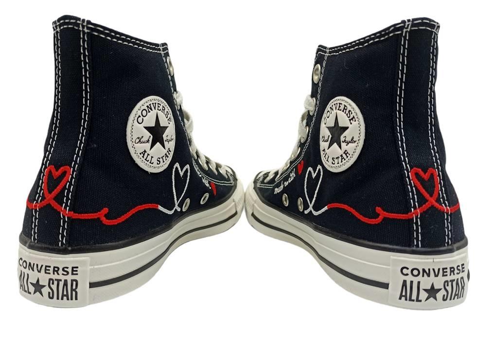 scarpe ragazza converse nere