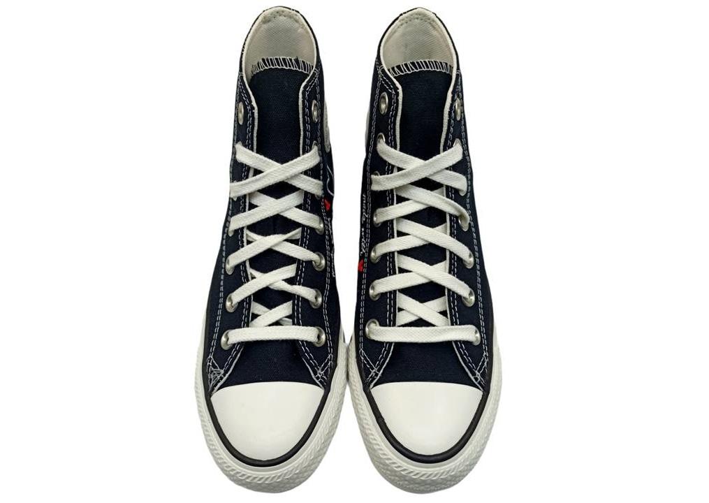 Scarpe donna ragazze Converse all star 171158C sneakers alte chuck taylor nere
