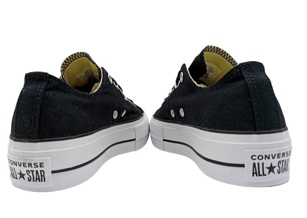 Scarpe da donna Converse all star 560250C sneakers basse platform chuck nere