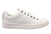 Calvin Klein Jeans SOLANGE SOFT NAPPA N12071 Bianco Sneakers Donna Casual