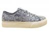 Liu Jo Girl L3A4 00058 Bianco e Jeans Sneakers Scarpe Donna Calzature Comode