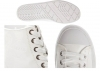 Calvin Klein Jeans ZAZAH PATENT RE9793 Bianco Sneakers  Polacchine Casual