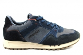 Wrangler BEYOND RUN WM182120 Blu Sneakers Uomo Calzature Comode