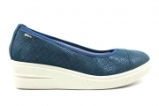 IGI e CO 3151100 Blu Decollete con Zeppa Scarpe Donna Calzature Casual