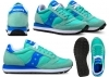 Saucony Jazz S1044 363 Verde Sneakers Donna Scarpa Casual Sportiva