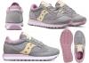 Saucony Jazz S1044 515 Grigio Sneakers Donna Bambini Scarpa Casual Sportiva