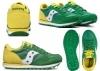Saucony Jazz SK260998 Verde Sneakers Donna Bambini Scarpa Casual Sportiva