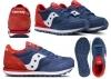 Saucony Jazz SK260996 Blu Sneakers Donna Bambini Scarpa Casual Sportiva