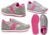 Saucony Jazz SK161588 Grigio Sneakers Donna Bambini Scarpa Casual Sportiva