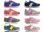 Saucony Jazz e Shadow Sneakers Donna Bambini Scarpa Casual Sportiva