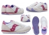 Saucony Jazz SK162931 White Berry Sneakers Donna Bambini Scarpa Casual Sportiva