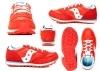 Saucony Jazz SK262479 Rosso Sneakers Donna Bambini Scarpa Casual Sportiva